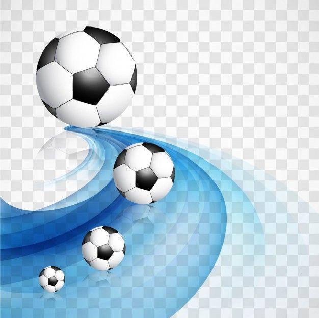 Descarga gratis vectores de Fondo azul ondulado de fútbol.
