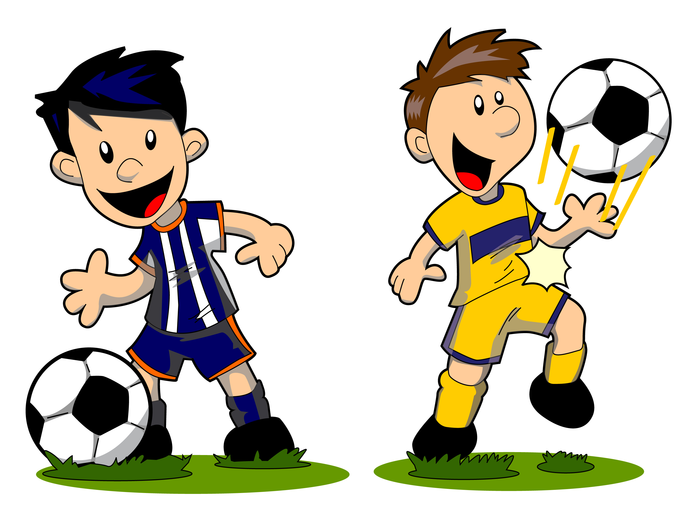Free Soccer Player Vector, Download Free Clip Art, Free Clip.
