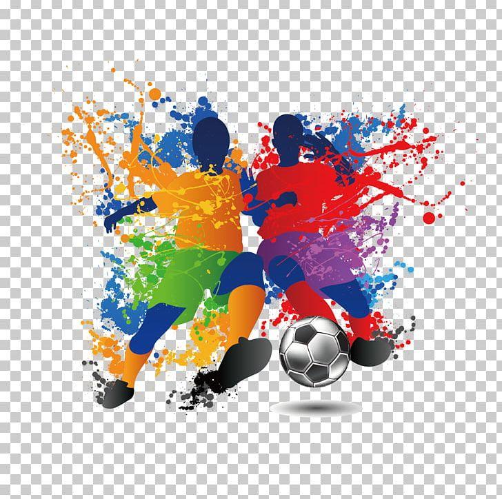 Football Player Futsal Illustration PNG, Clipart, Ball, Character.