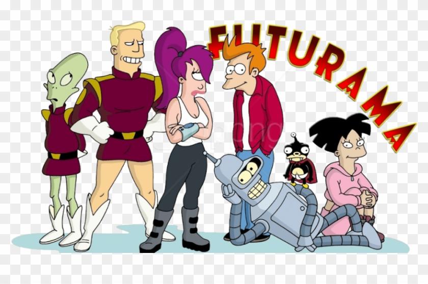 Download Futurama Bender Fry Leela Clipart Png Photo.
