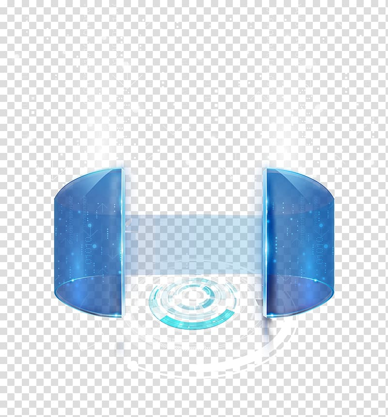 Future Technology Background transparent background PNG.
