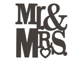 Future Mr And Mrs Clipart.