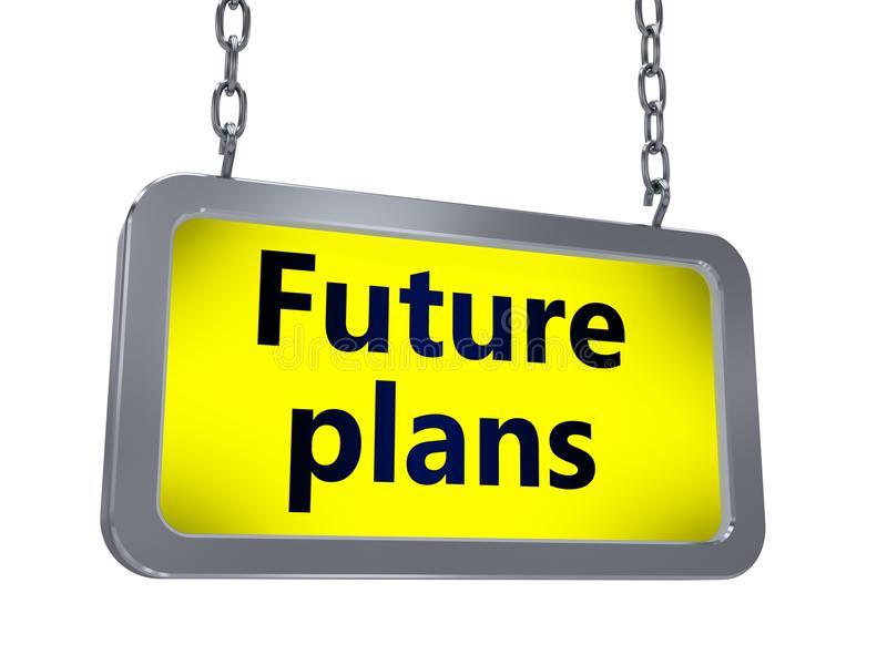Future Plans Stock Illustrations.