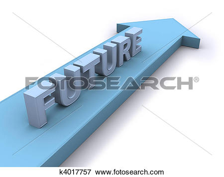 Stock Illustration of Future direction k4017757.