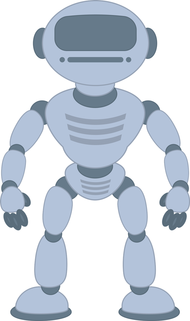 Free to Use & Public Domain Robot Clip Art.