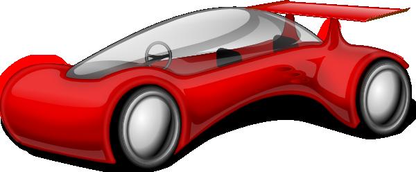 Free to Use & Public Domain Futuristic Car Clip Art.