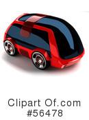 Futuristic Car Clipart #56038.