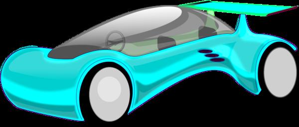 Futuristic Car Clipart.