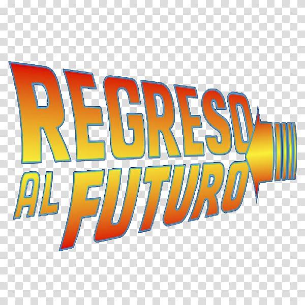 Logo Back to the Future Brand Product, regreso al futuro.