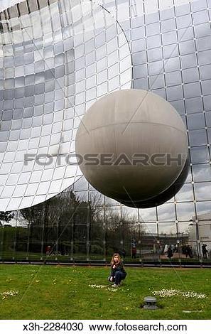 Stock Photography of Futuroscope theme park, around Poitiers.