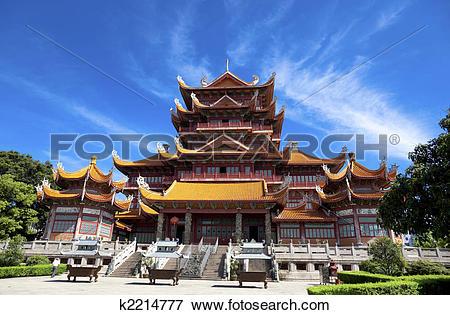 Picture of Temple of Xichan in Fuzhou k2214777.