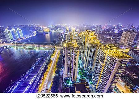 Stock Image of Fuzhou, China k20522565.