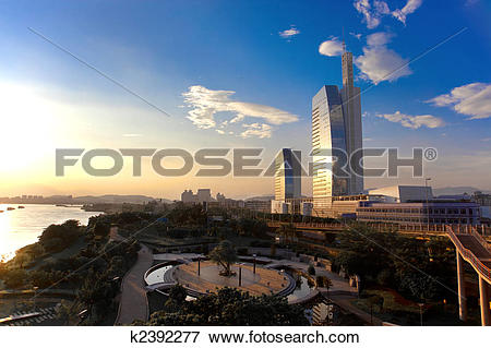 Picture of Sunsets in Fuzhou k2392277.