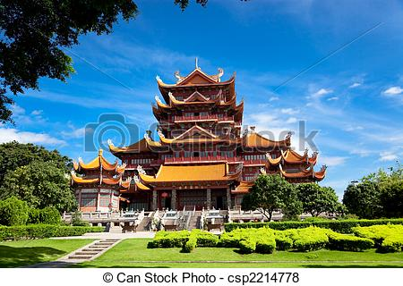 Pictures of Temple of Xichan in Fuzhou.