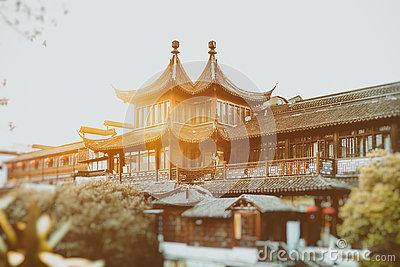 Chinese Palace Architecture Royalty Free Stock Photos.