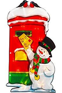 Fuzzy Snowball Lights 10 Bulb String Christmas Lighting Decor.