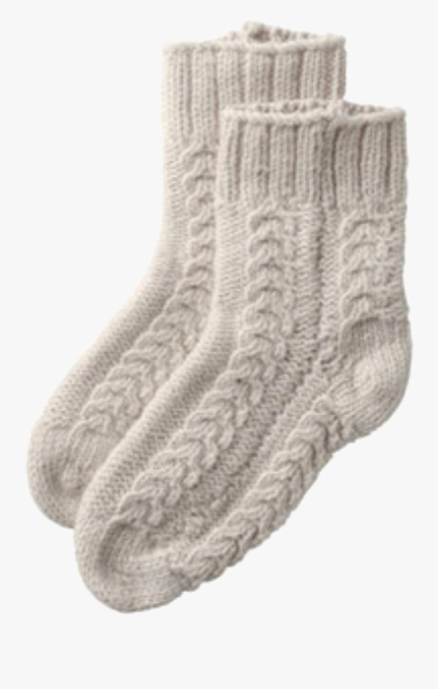 Transparent Fuzzy Socks Clipart.