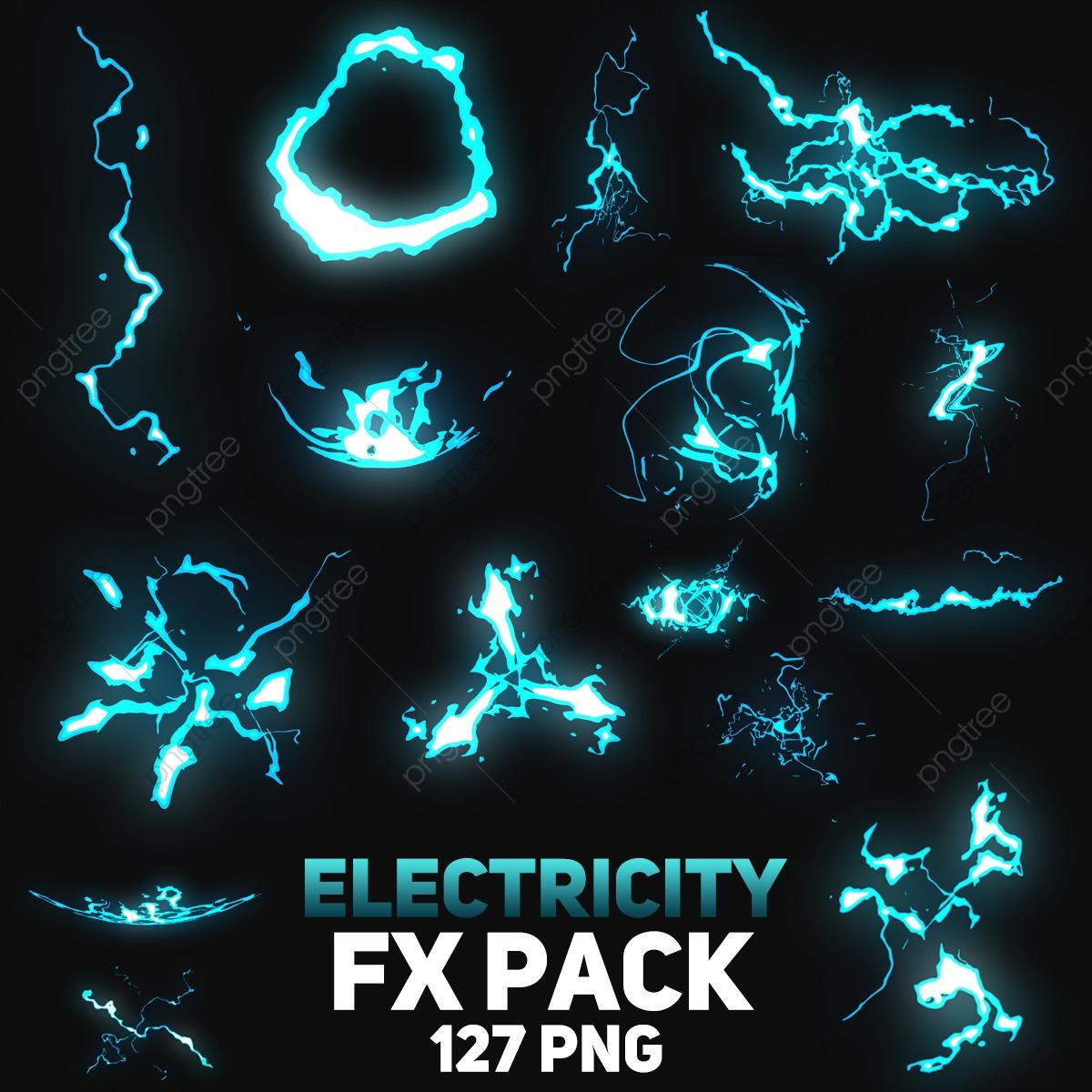 Electricity Fx Png Pack, Lightning, Highlight, Image PNG Transparent.