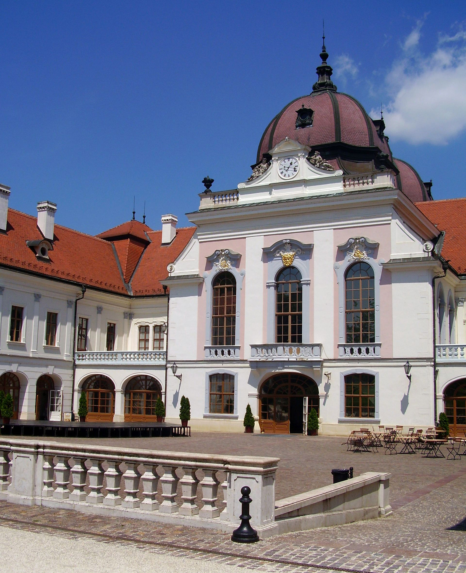 Royal Castle in Godollo, Hungary.