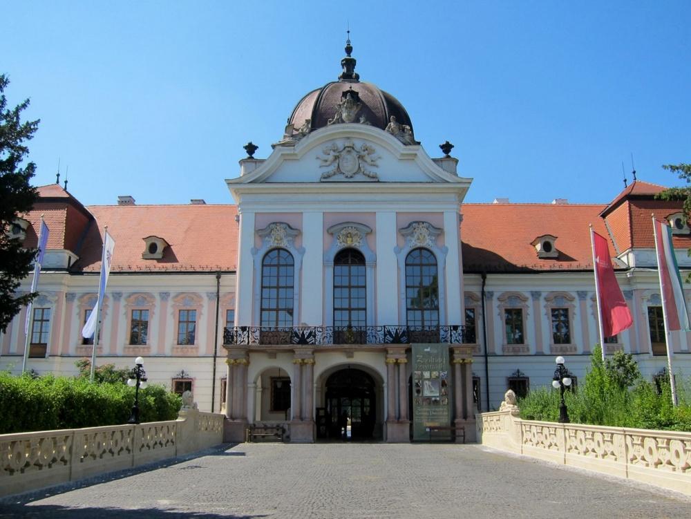 The Royal Palace of Godollo, Hungary.