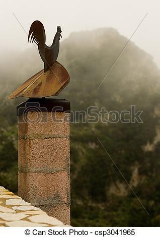 A hegy, völgy, híres, Kakas, hagyományos, görög, falu.
