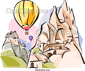 Turkey Goreme Clip Art.