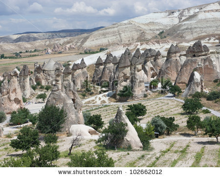 Zelve Open Air Museum At Cappadocia, Turkey Stock Photo 102662012.