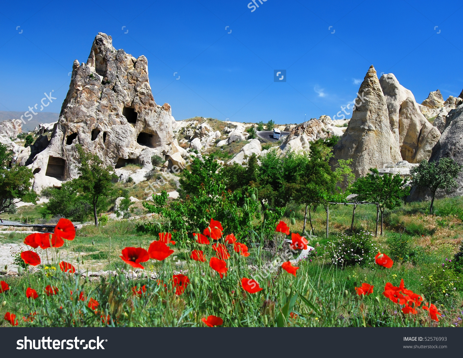 Goreme Open Air Museum, Turkey Stock Photo 52576993 : Shutterstock.