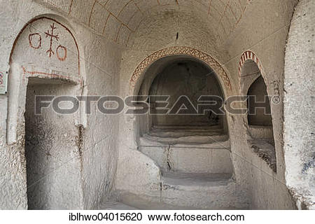 "Stock Photography of ""Rock church in Goreme Open Air Museum."