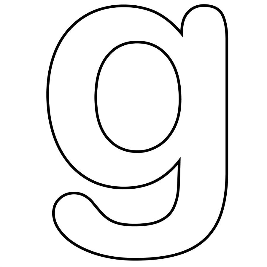 Letter G Clipart.