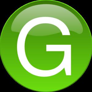 Green G Clip Art at Clker.com.