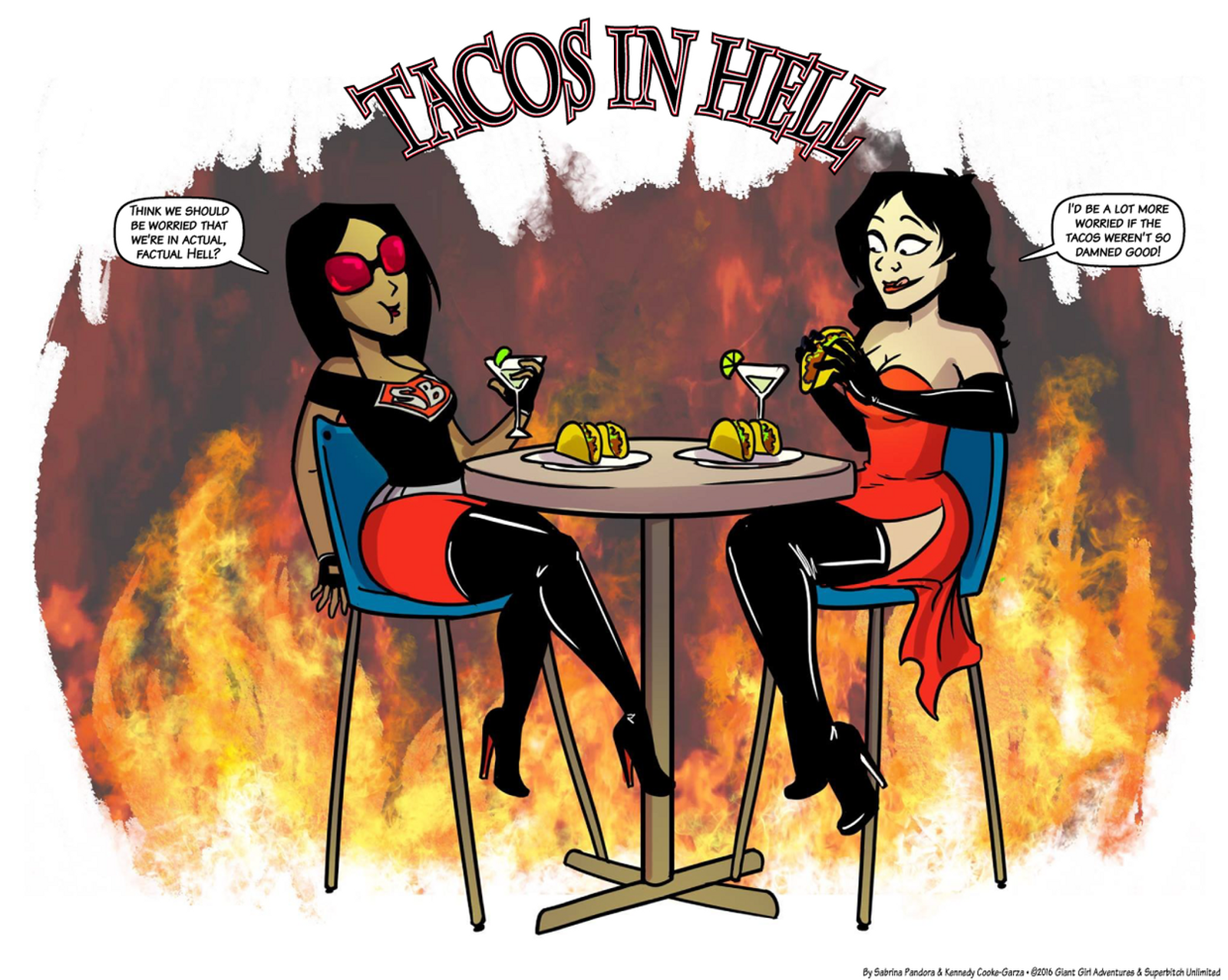 Tacos in Hell.