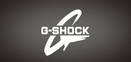 G shock Logos.