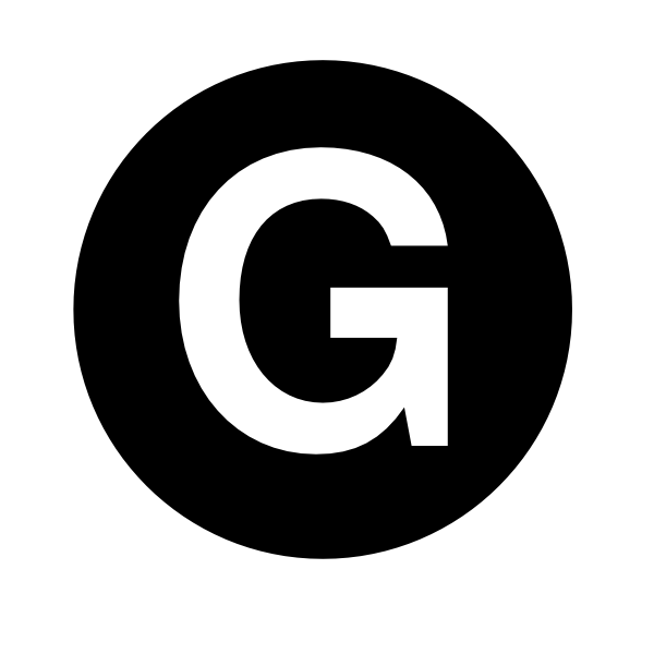 White Letter G Clip Art at Clker.com.