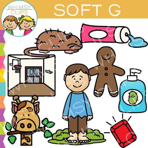 Soft G Words Clip Art , Images & Illustrations.