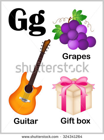 G Is For Grapes Stock Images, Royalty.