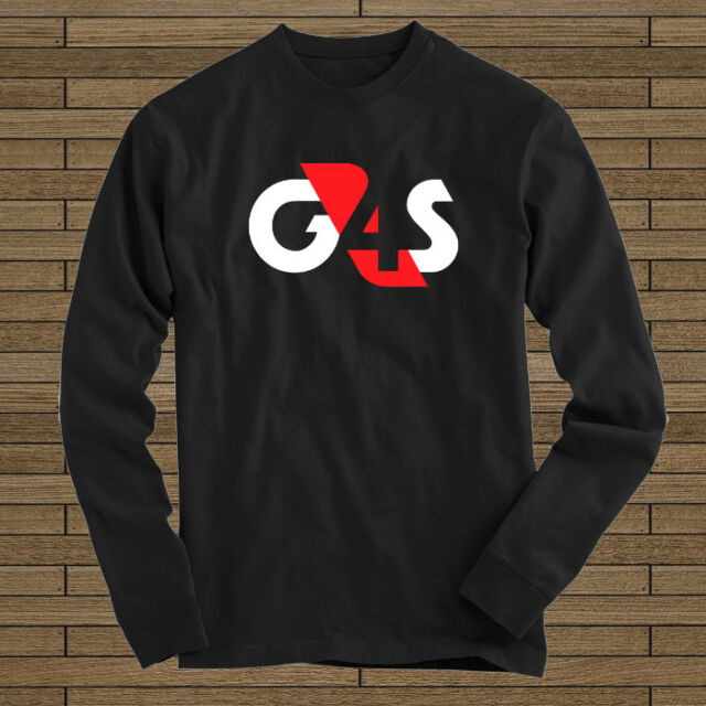G4S Security Mercenary Soldier Army Logo New Long Sleeve Tee.