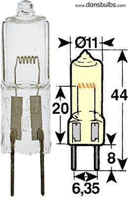 H 24V 40W G6.35 CAPSULE.