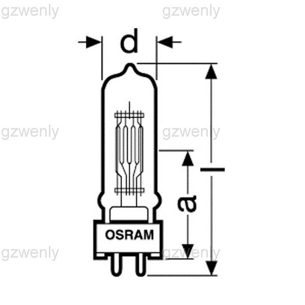 Wholesale Osram 64668 Xir 22.8v80w G6.35 For Hanaulux Blue 80.