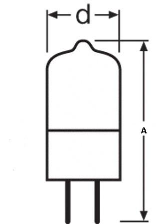 Special Bulb Osram 64261 HLX 30W 12V G6.35.