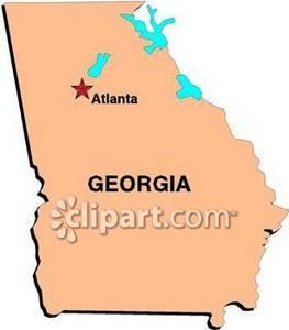 Atlanta ga clipart.