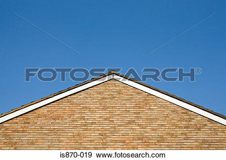 Stock Photograph of Gable of a house is870.