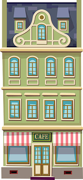 Gable Wall Clip Art, Vector Images & Illustrations.
