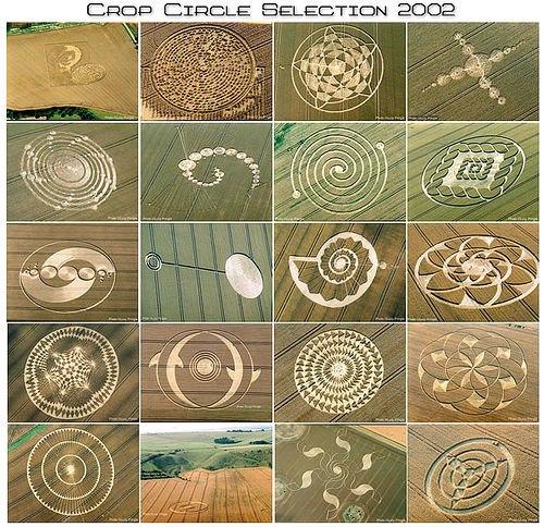 Crop circles, UFO and Circles on Pinterest.