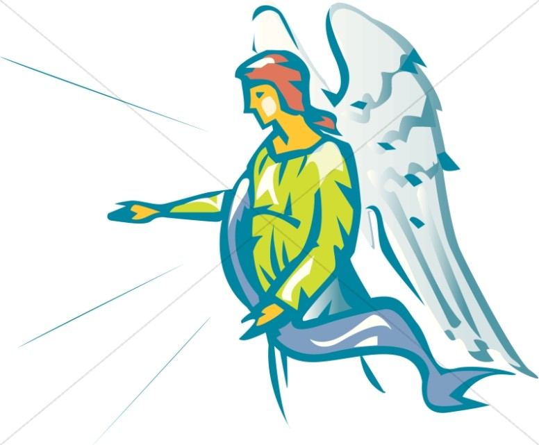 Angel gabriel clipart.
