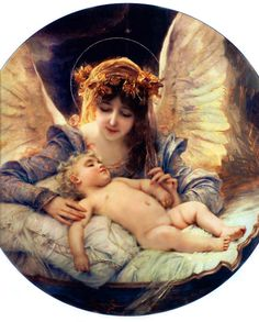 Pictures of Christmas Angels, Some Beautiful Paintings and Images.