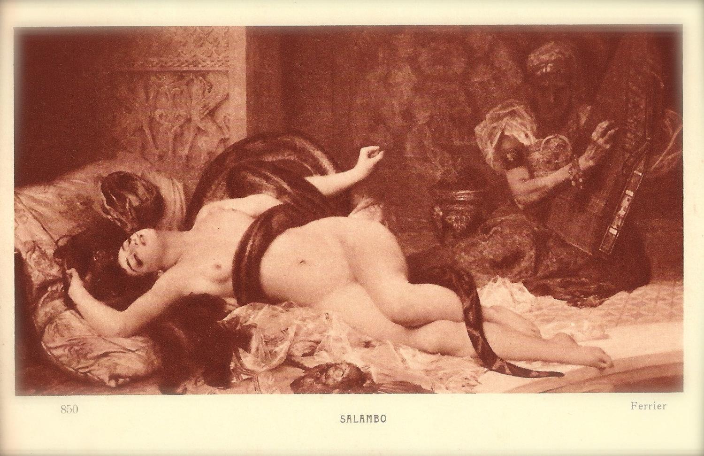 Salammbo by Gabriel Ferrier 1880 Fine Art Painting Erotic by 1898.