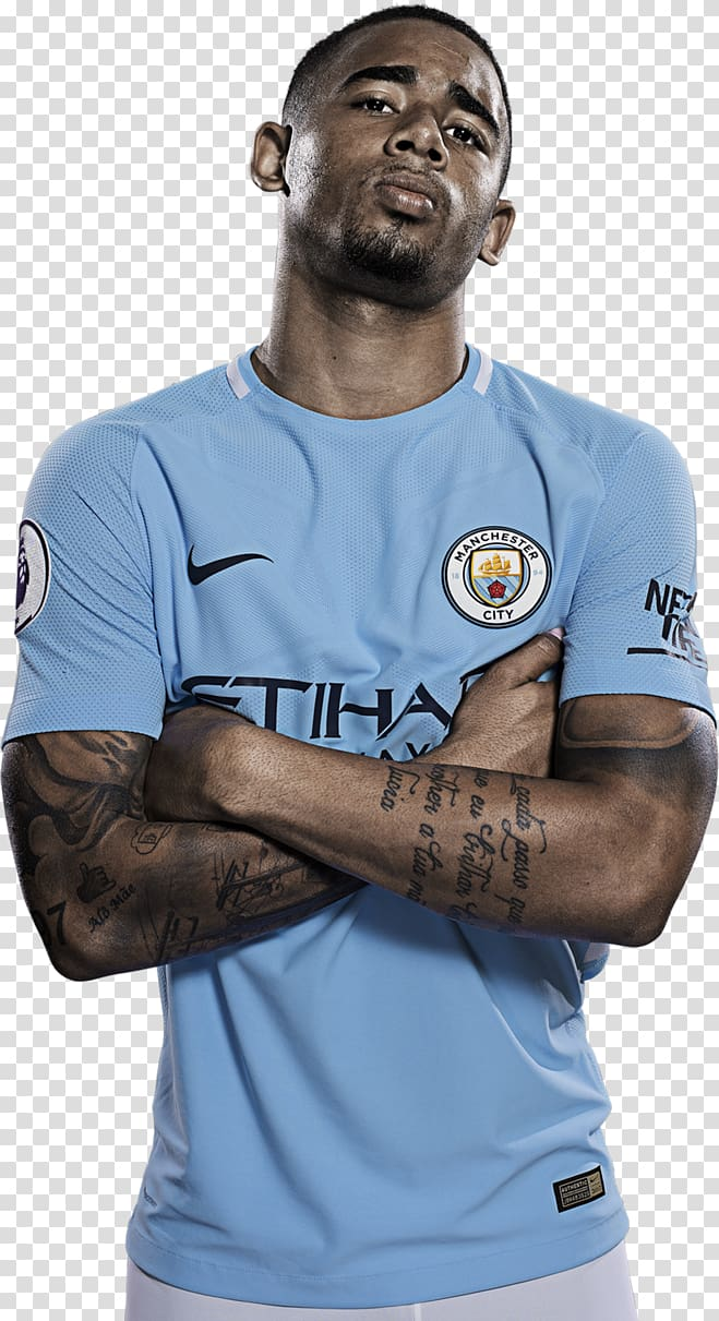 Gabriel Jesus Manchester City F.C. Rendering Jersey, others.
