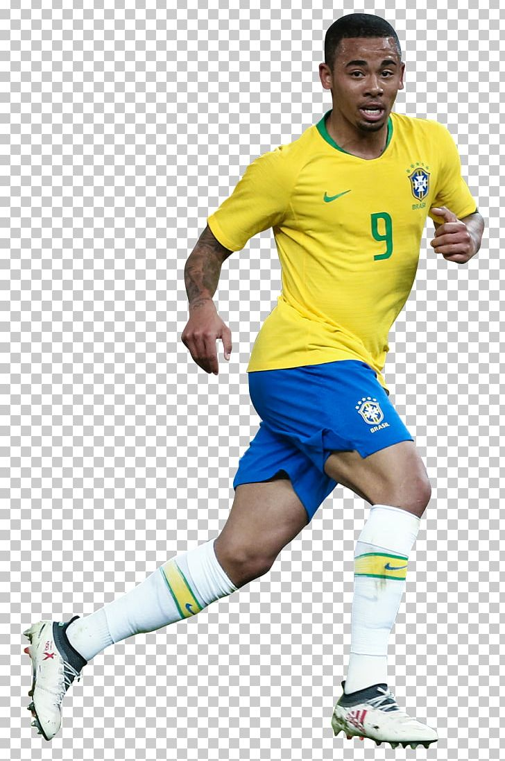 Gabriel Jesus Brazil National Football Team Football Player.