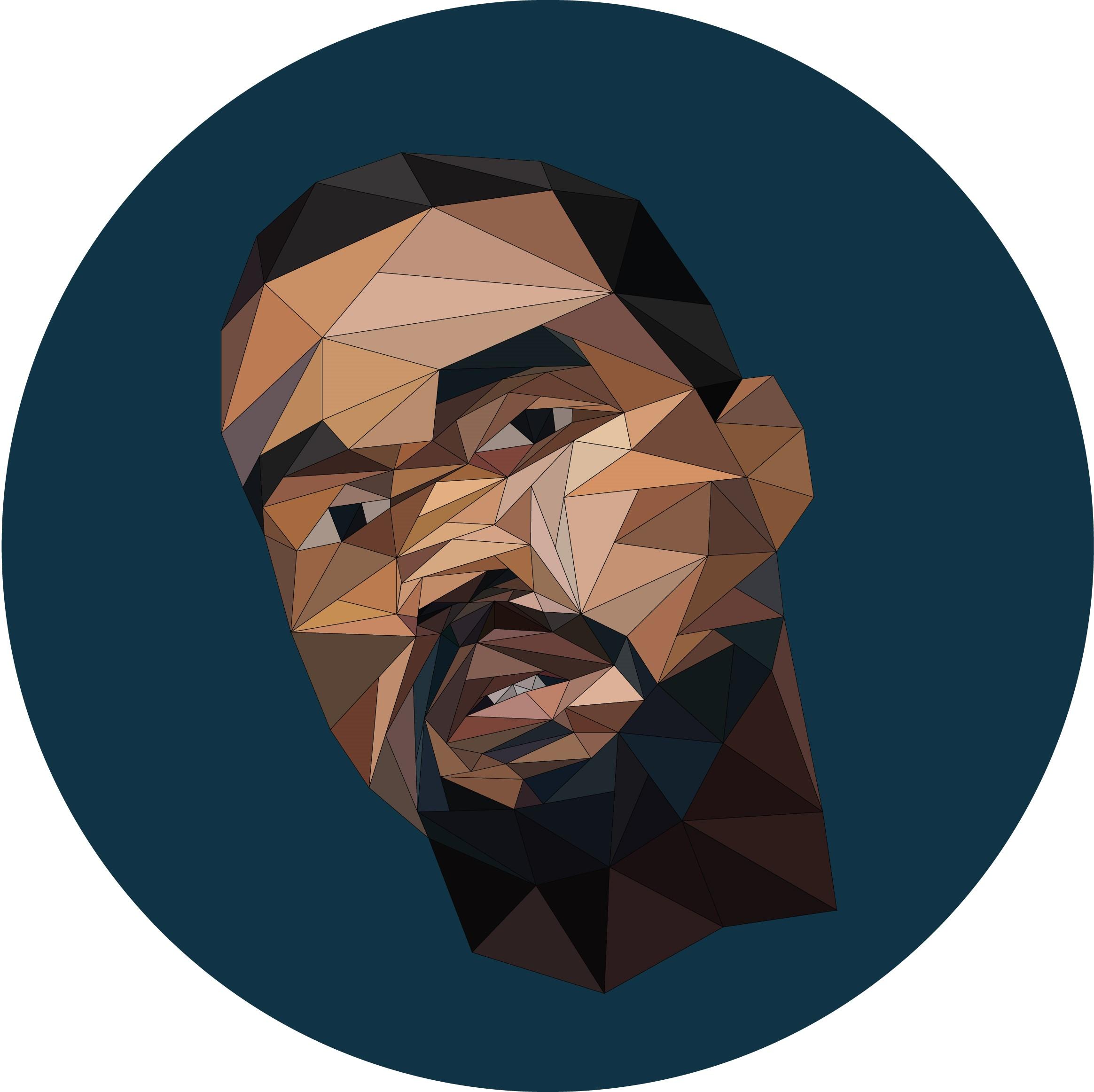 Kanye West Illustration Digital Design.
